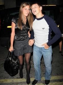 Андрей с женой Юлей